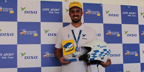 David Perdomo Hernández, ganador de la Escuela de Pilotos Club Disa Copi Sport 2019
