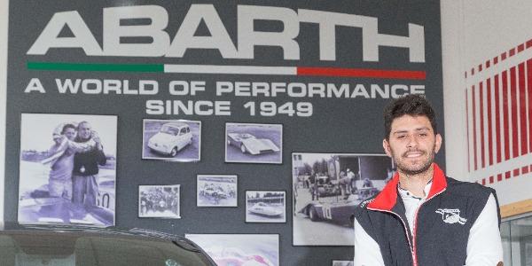 Domingo Ramos dos temporadas con un Abarth