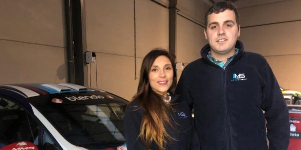 Efrén Llarena apoyado por Llanes Motorsport en el Europeo