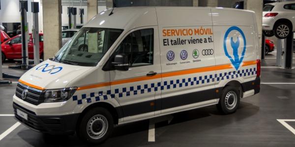 Nueva Mobile Service Unit: el taller viene a ti
