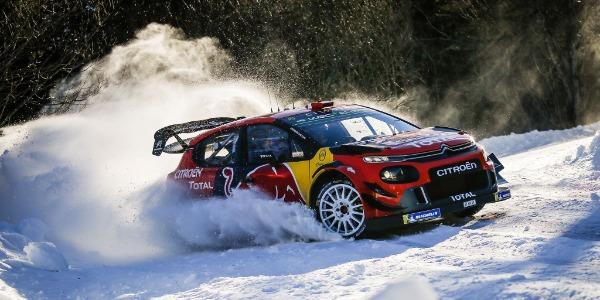 Sebastien Ogier con Citroën