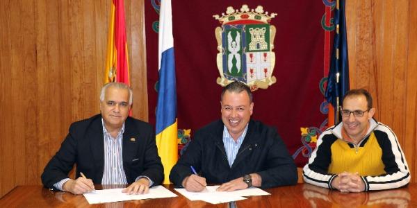 San Mateo renueva su apoyo al Rally Islas Canarias