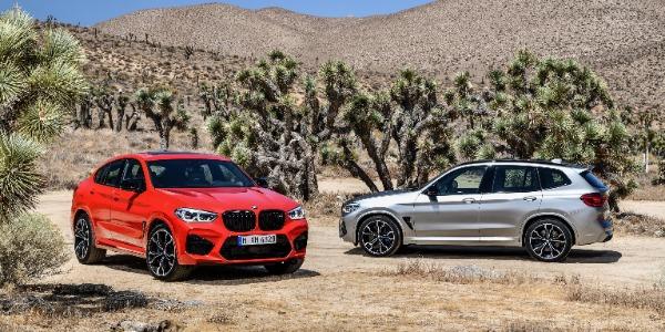 Llegan los nuevos BMW X3 M y X4 M
