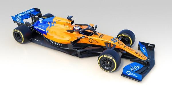 McLaren desvela su MCL34 con Carlos Sainz y Lando Norris