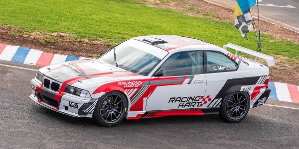 Cristian Alemán arrancará  el 2019 en Juncalillo con el BMW M3