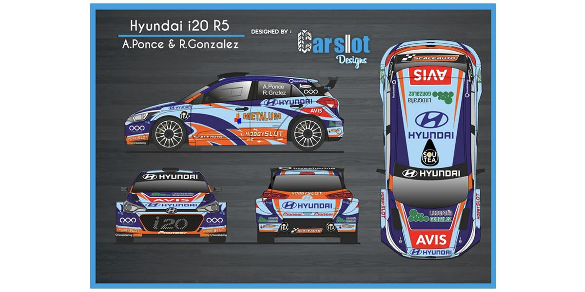 Nuevo diseño para el Hyundai i20 R5