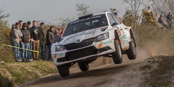Gustavo Sosa se estrena en el Rally Tierras Altas de Lorca
