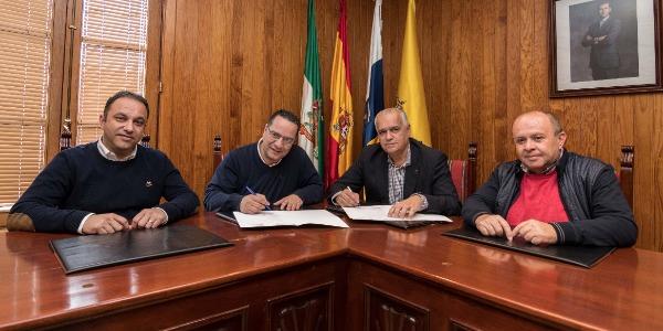 Moya sigue apoyando al Rally Islas Canarias