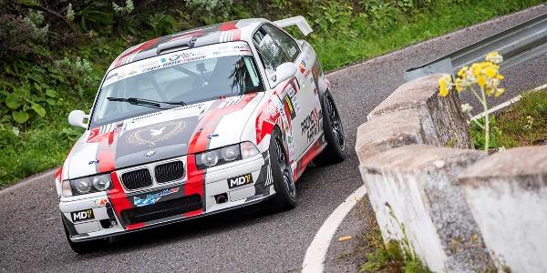 Cristian Alemán con el BMW M3