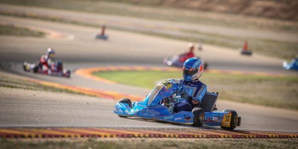 Gran actuación de Santi Concepción Jr en el nacional de karting