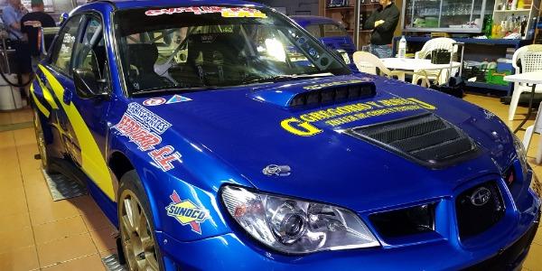 Subaru Impresa WRC S12