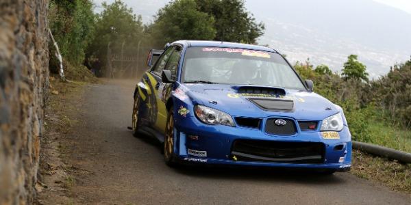 Félix Brito abandonó por avería en el Rallye Orvecame Norte