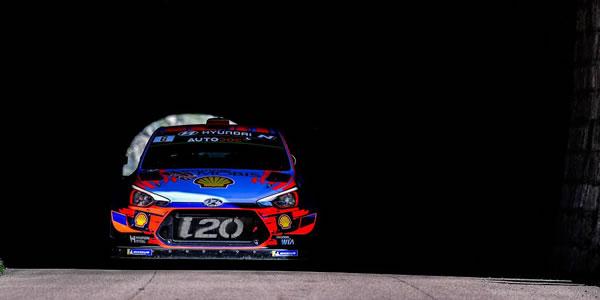 Dani Sordo finaliza cuarto en el Rally Tour de Corse