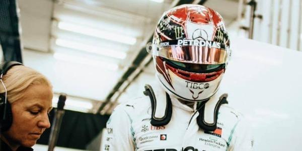 Hamilton gana el GP de Bahrein con problemas para Ferrari