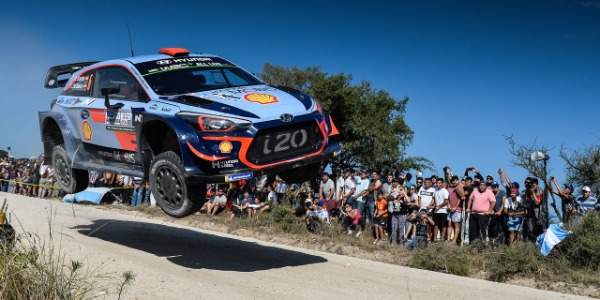 Dani Sordo a por un buen resultado en el Rally de Argentina