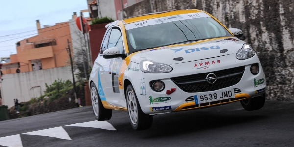 La Copa Adam DISAmax un año más en el Rally Islas Canarias