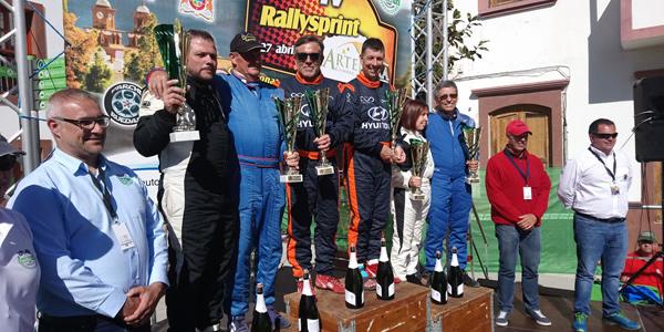 Dominio de Toñi Ponce y Rubén González en el Rally Sprint Artenara