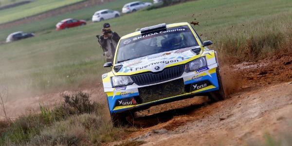 Cuarto puesto de Gustavo Sosa en el Rally Circuito de Navarra