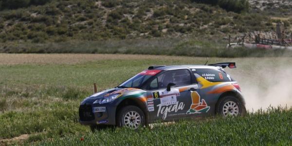 Complicado Rally Circuito de Navarra para Quintana y Peñate