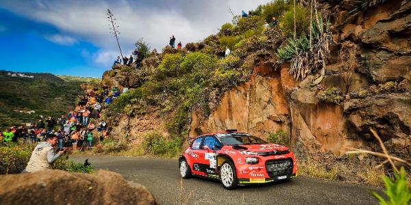 El tramo de calificación augura un emocionante Rally Islas Canarias
