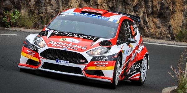 Rally Islas Canarias en línea ascendente para Luis Monzón