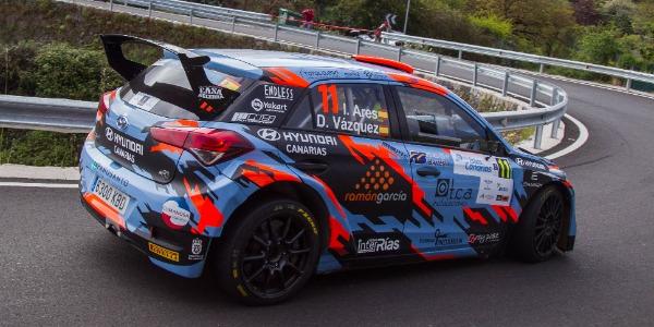 Ares, Pernía y Suárez con todo a por el Rallye Villa de Adeje