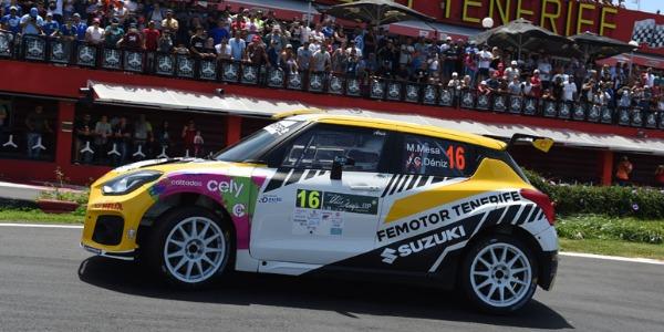 Manuel Mesa sube al podio en el Rallye Villa de Adeje
