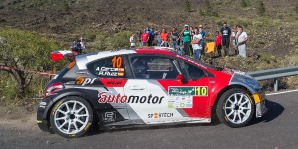 Adrián García y Raquel Ruiz, segundos del regional en Adeje