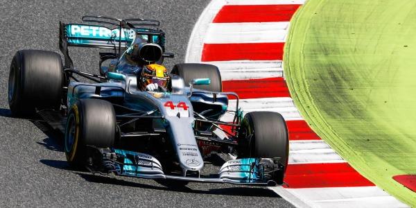 Victoria de Hamilton en el Gran Premio de España
