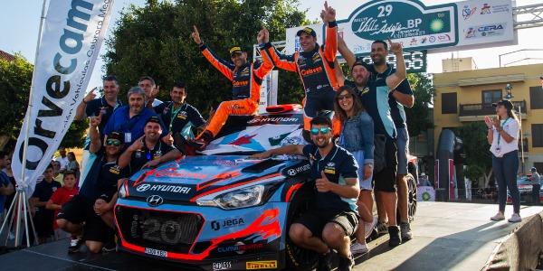 Iván Ares valora el Rallye Villa de Adeje tras su victoria