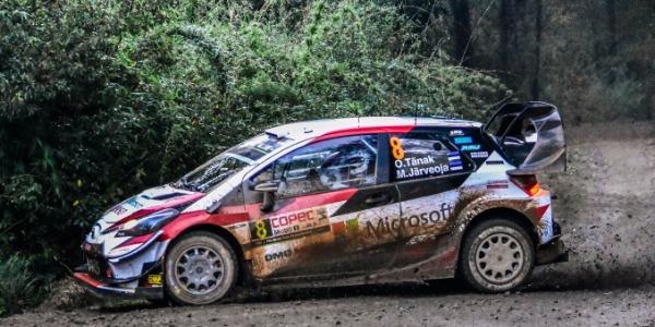 Ott Tänak bate a Ogier y Loeb en el Rally de Chile