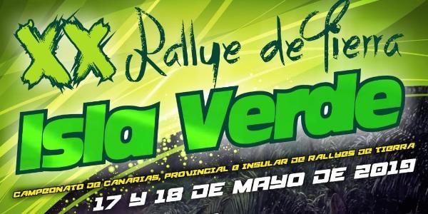Lista Oficial de Inscritos del Rallye Isla Verde