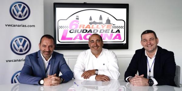 Volkswagen Canarias apoya al Rallye Ciudad de La Laguna