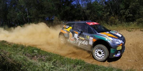 Complicado Rallye Terra da Auga para Juan Carlos Quintana