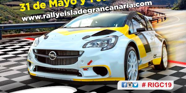 Lista Oficial de Inscritos del Rallye Isla de Gran Canaria