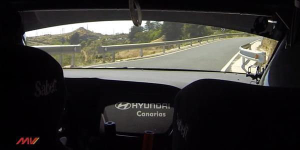 Vídeo onboard Toñi Ponce en el Rallye Isla de Gran Canaria