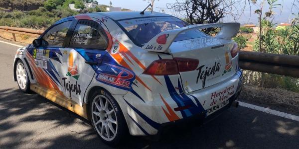 Juan Carlos Quintana, frustrado en el Rallye Isla de Gran Canaria