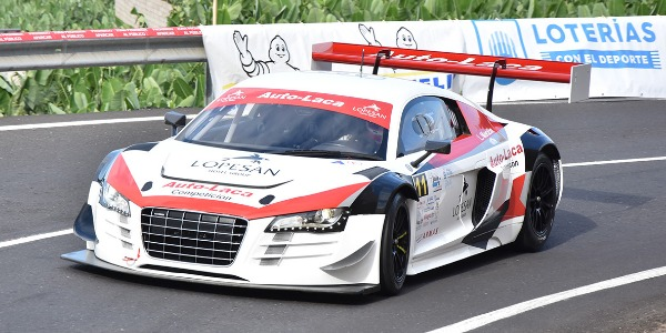 Audi R8 LMS pilotado por Luis Monzón