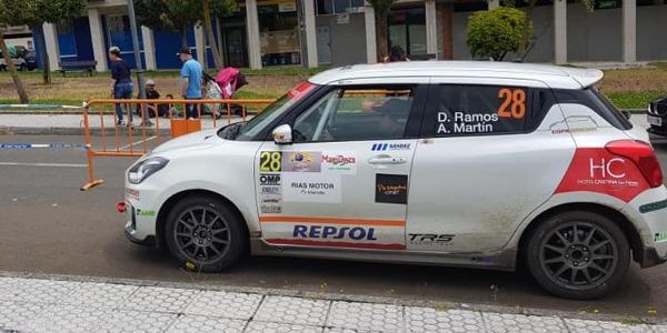 Pablo Medina y Domingo Ramos siguen sumando en la Suzuki Swift