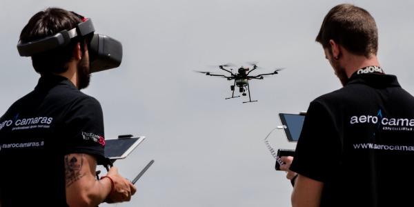 Aerocamaras realiza vuelos de seguridad con drones en los rallyes