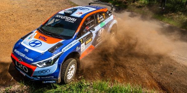 Yeray Lemes y Ariday Bonilla estarán en el Rallye de Astorga