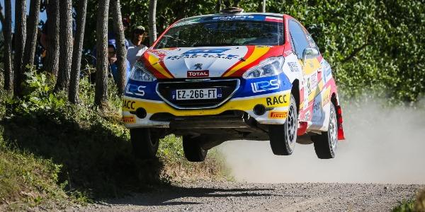 Efrén Llarena evalúa el Rally de Polonia tras su salida de carretera