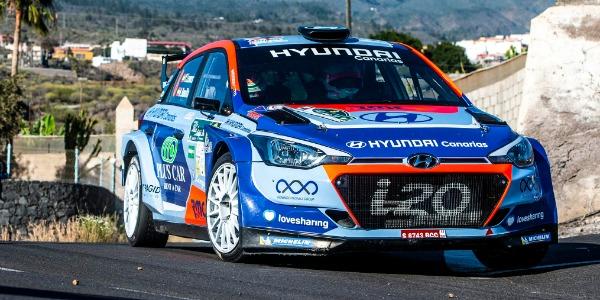 Lemes y Peñate logran la victoria en el Rally Sprint Tomás Viera