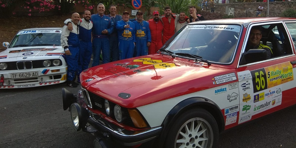 Copa BMW Power tras el Rallye Comarca Norte