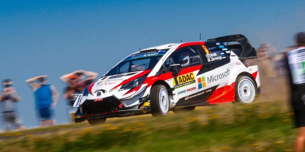 Ott Tänak gana el Rally de Alemania