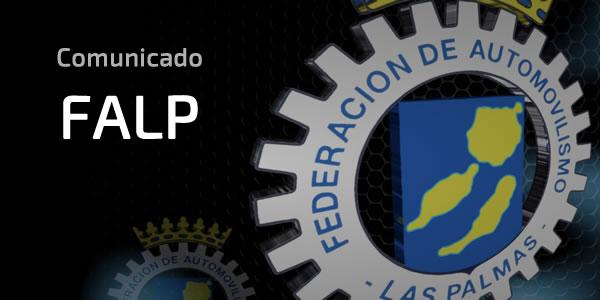 Comunicado FALP sobre situación con Circuito de Maspalomas