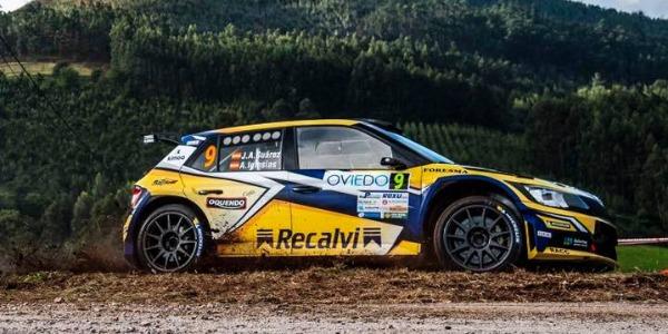 Victoria de Cohete Suárez en el Rallye Princesa de Asturias