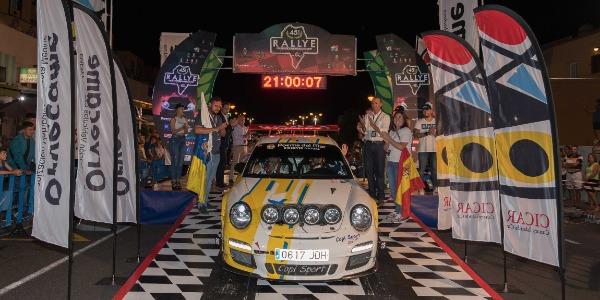 Salida del 45 Rallye La Palma Isla Bonita
