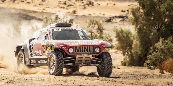 Victoria de Carlos Sainz en la tercera etapa en Marruecos
