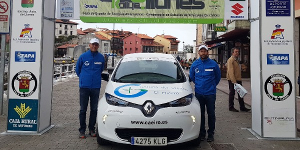 Primer rallye de la Copa FIA E-Rallye para Zósimo Hernández
